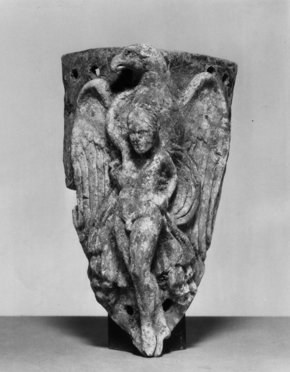 Relief-plaque of Ganymede Carried by the Eagle