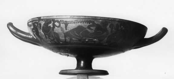 Kylix with Reclining Banqueter