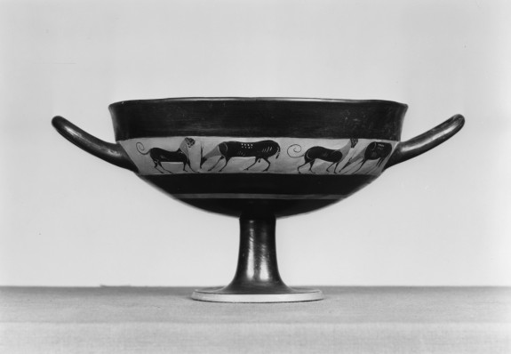 Kylix With Animal Frieze The Walters Art Museum Works Of Art