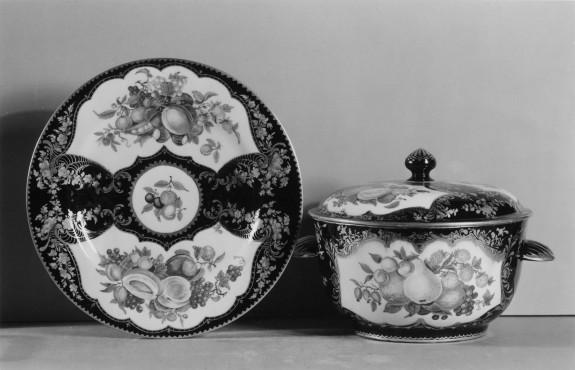 Porcelain Bowl and Plate Set