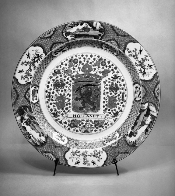Plate with the Arms of Holland
