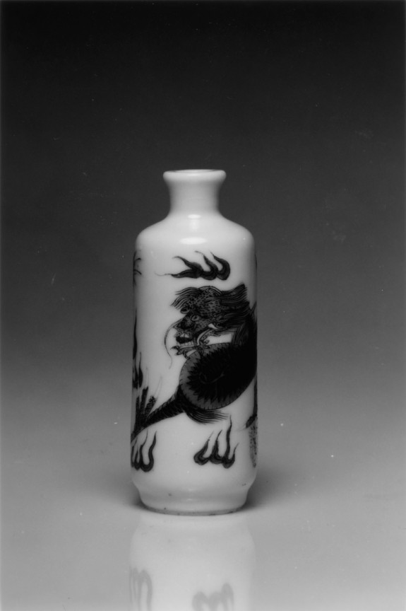 Snuff Bottle with Dragon