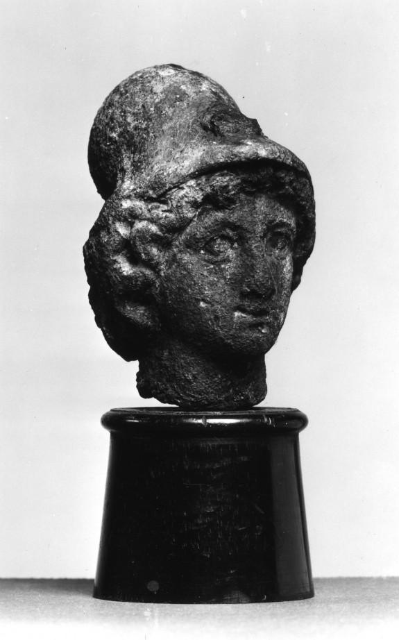 Athena Wearing a Corinthian Helmet