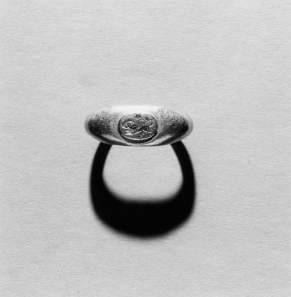 Ring Engraved with a Lion