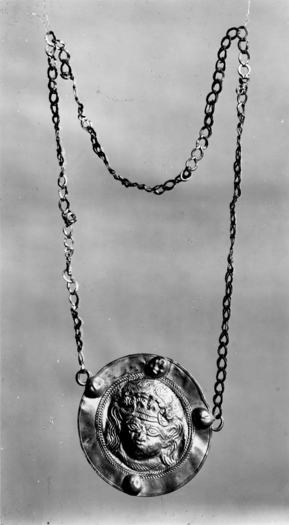 Necklace with Medallion