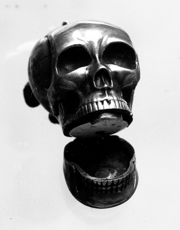 Watch in the Form of a Skull