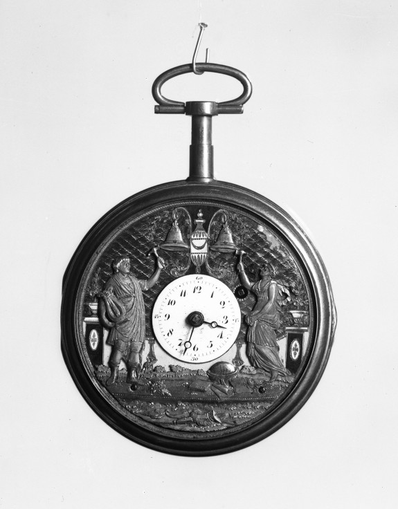 Watch with Apollo and Minerva Striking Bells