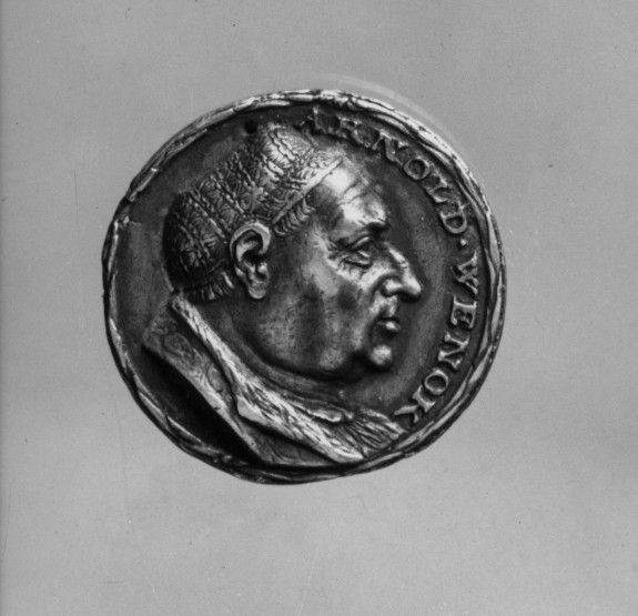 Medal of Arnold and Nicholas Wenck