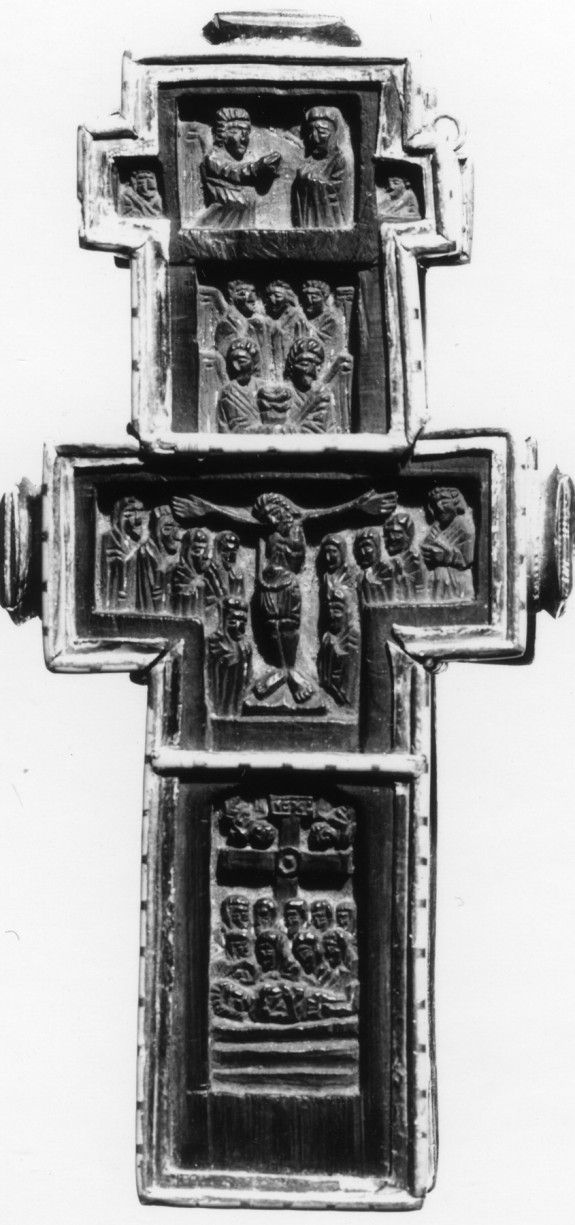 Pectoral Cross with New Testament Scenes