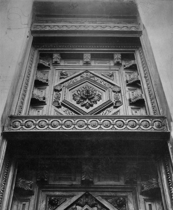 Coffered Ceiling from the Palazzo Aliverti