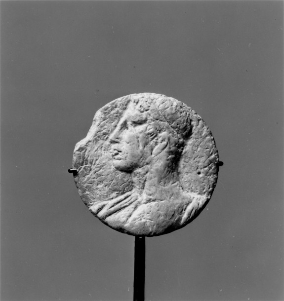 Medallion with a Man's Head