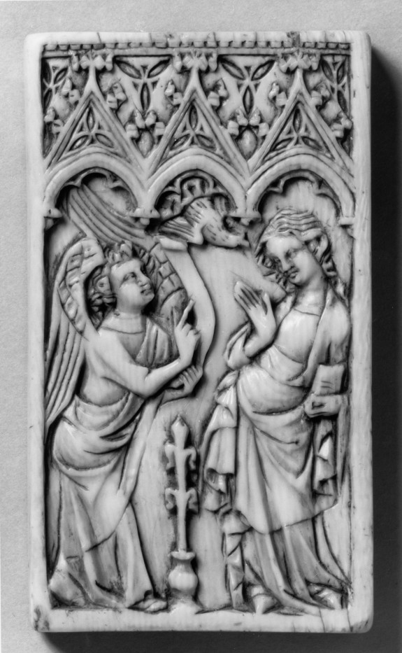 Box Bottom with the Annunciation