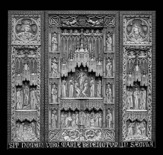 Pseudo-Gothic Triptych