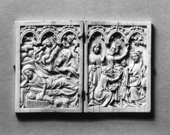 Diptych with the Nativity and Adoration