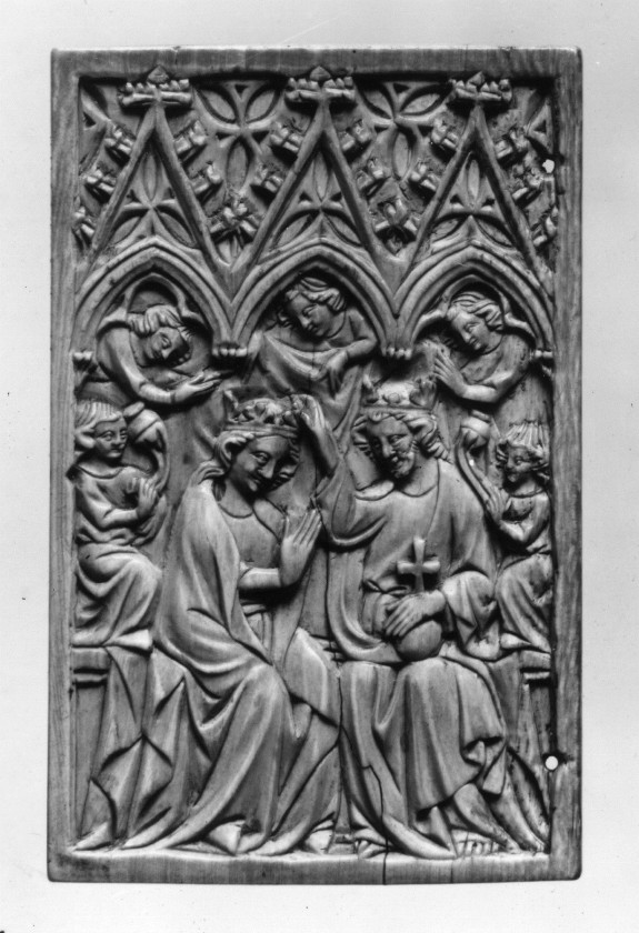 Wax Tablet with the Coronation of the Virgin