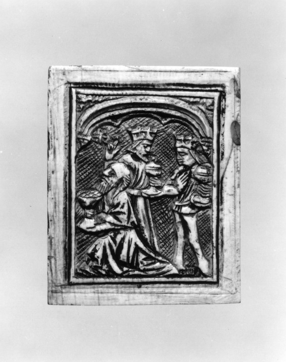 Plaque with the Adoration of the Kings