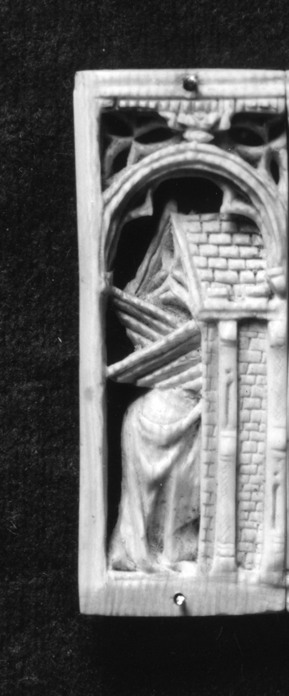 Angel entering the Tomb (from a missing scene of the Resurrection)
