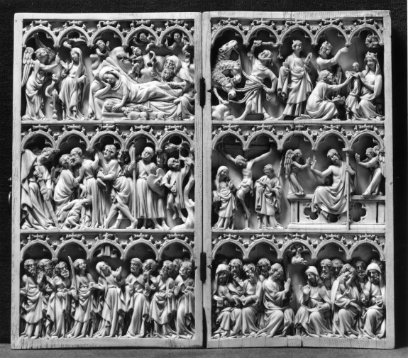 Diptych with Scenes of Christ's Life and Passion