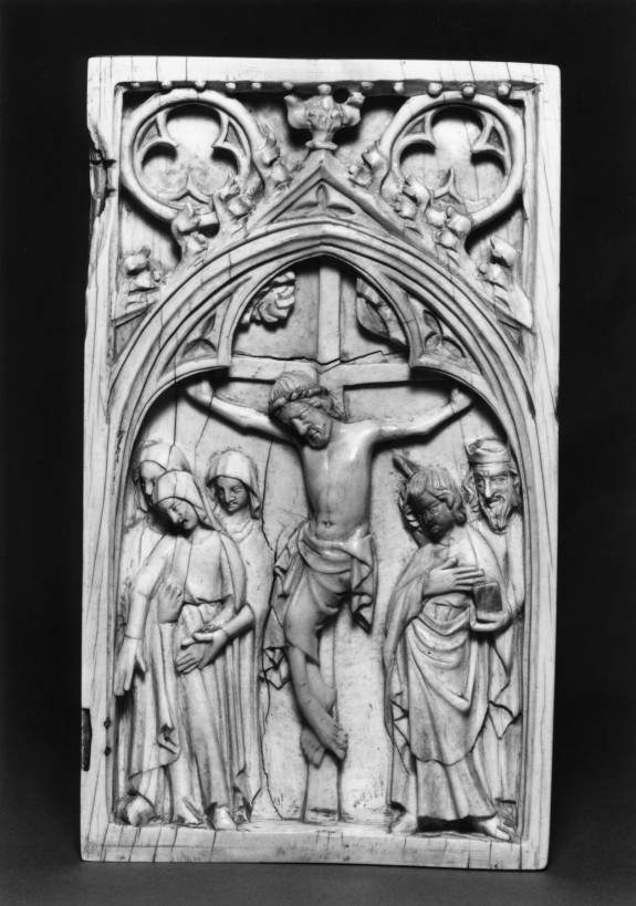 Diptych Leaf with the Crucifixion