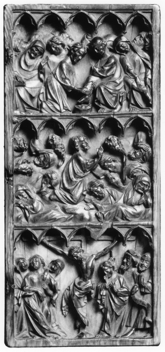 Right Leaf of a Diptych with Scenes of Christ's Passion