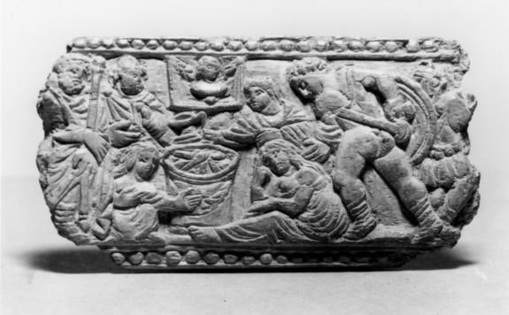 Panel with a Scene of Sacrifice