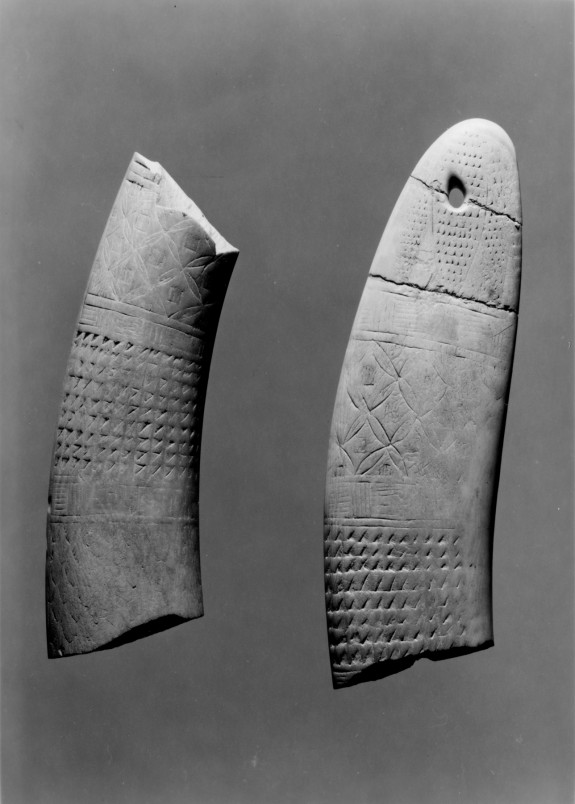 Clapper Fragment from a Musical Instrument