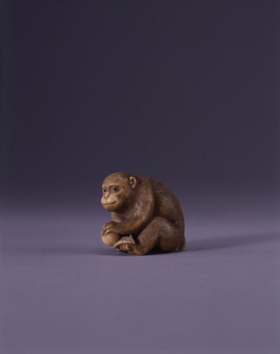 Netsuke in the Form of a Monkey