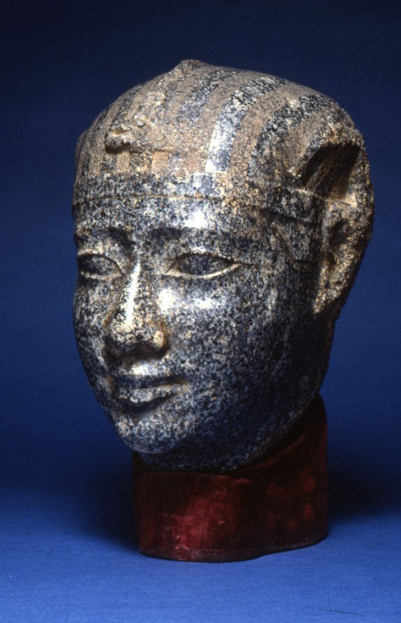 Head of a King with a Striped Headcloth