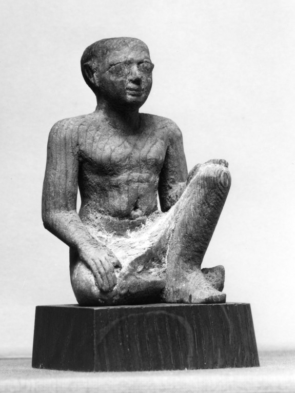 Seated Male Servant