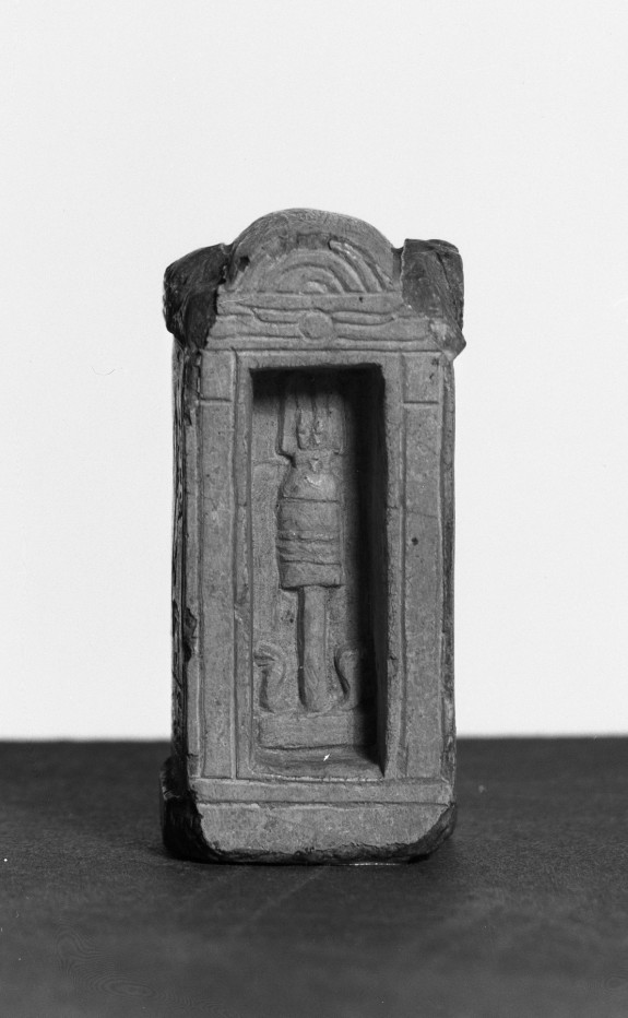 Votive Slab in the Form of a Shrine