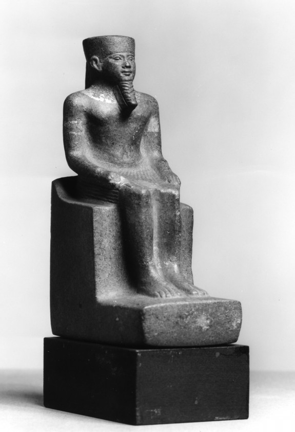 Amun Seated on Throne