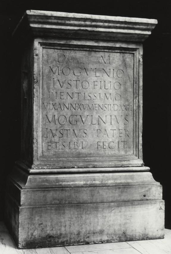 Funerary Altar of M. Ogulnius Iustus