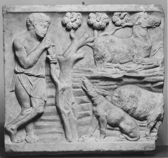 Relief of a Herdsman