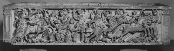 Sarcophagus with the Abduction of Persephone by Hades
