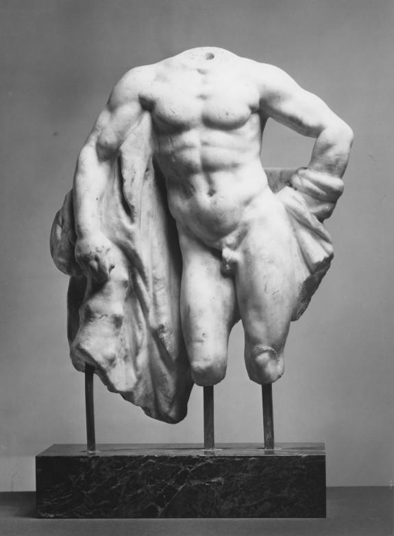 Torso of Hercules Resting (Fragment)