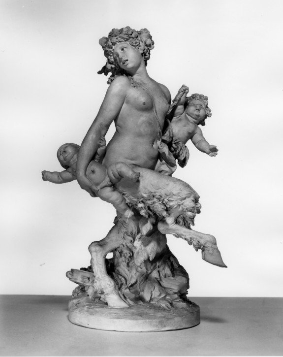 Female Satyr with Putti