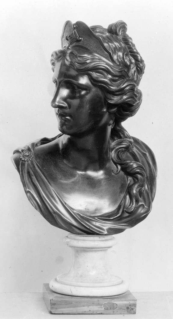 Bust of a Woman in Classical Dress