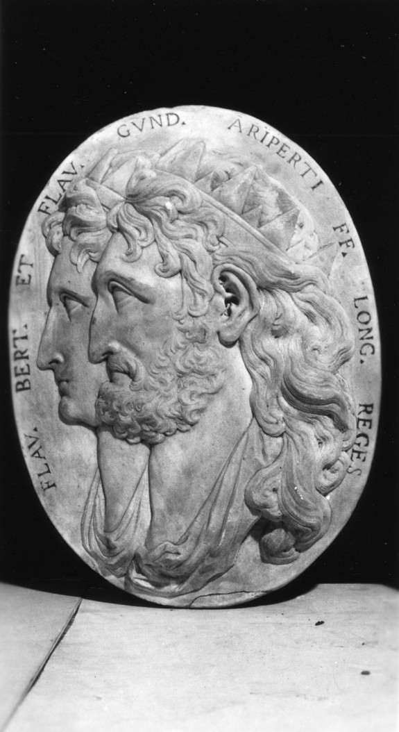 Medallion of Peretarit (or Berthari) and Godepert, Kings of Lombardy