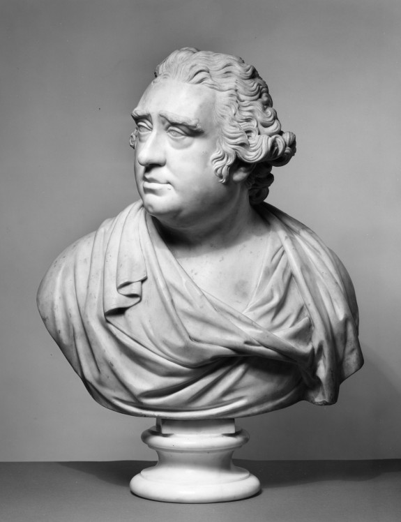 Bust of Charles James Fox