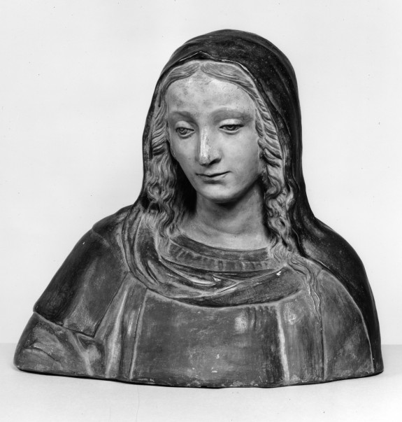 Bust of a Female Saint
