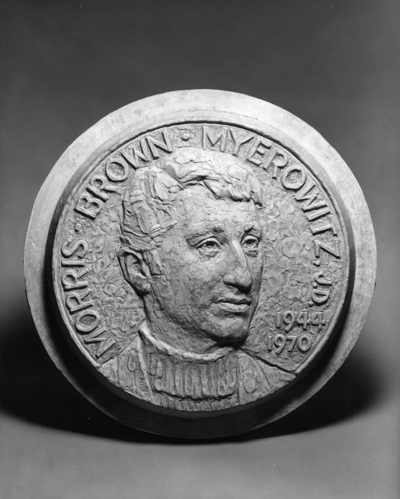 Original Plaster Model for the Myerowitz Medal