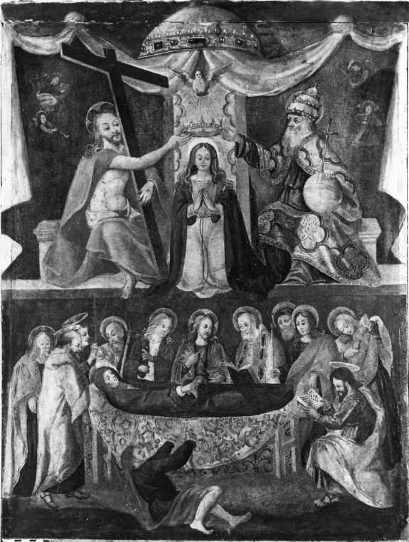 The Death and Coronation of the Virgin