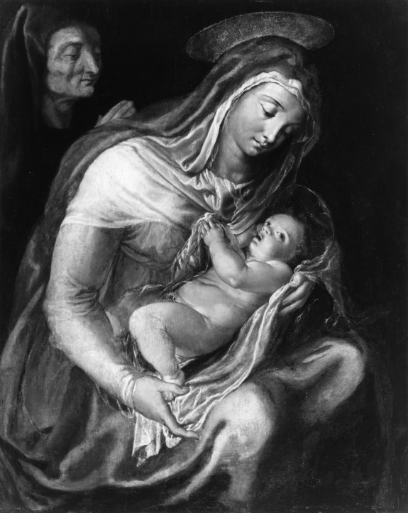 Virgin and Child with Saint Anne
