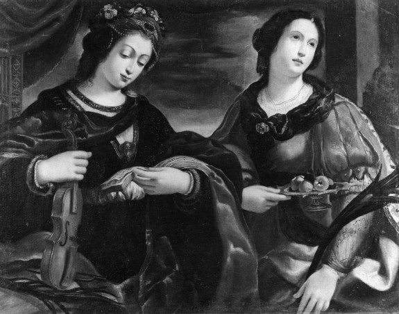 St. Cecilia and St. Dorothy