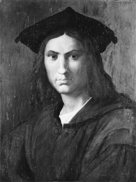 Portrait of Baccio Bandinelli, formerly believed to be of Andrea del Sarto