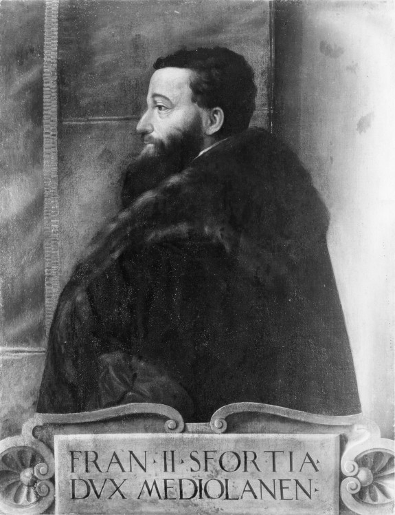 Portrait of Francesco II Sforza, Duke of Milan