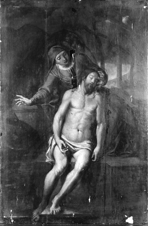 The Virgin Mourning Over Christ
