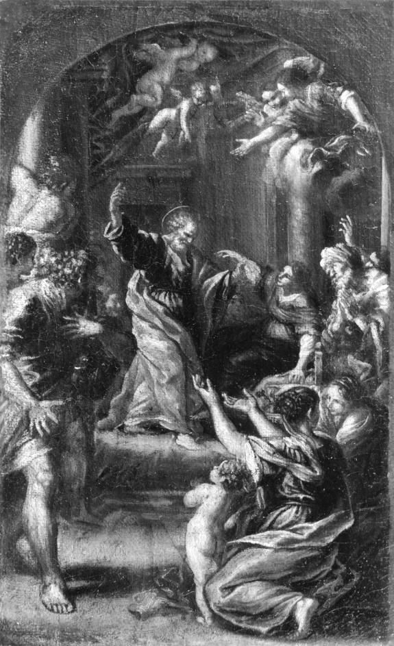 St. Peter Healing a Woman