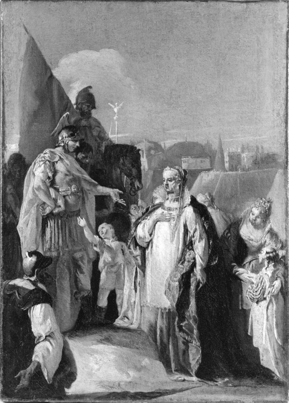 Alexander the Great and the Family of Darius