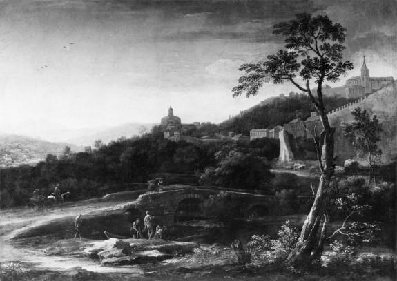 Landscape: View of Todi, Umbria